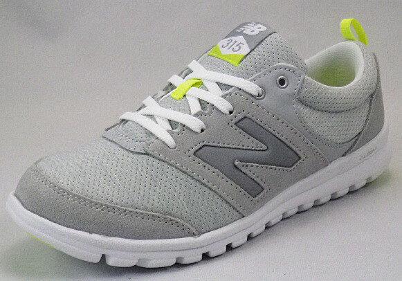 【new balance】WL315GAグレイ/ホワイトD【婦人靴】【フィットネスウォーキング】【CUSH+】