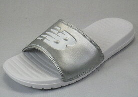 【newbalance】SD130シルバーSV-D【スポーツサンダル】【婦人靴】【ビックロゴ】