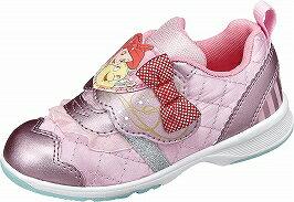 【Disney】DN-C1202ピンク2E【子供靴】【なりきりプリンセス】【通園】【洗えるインソール】【Ag+抗菌防臭】【アリエル】