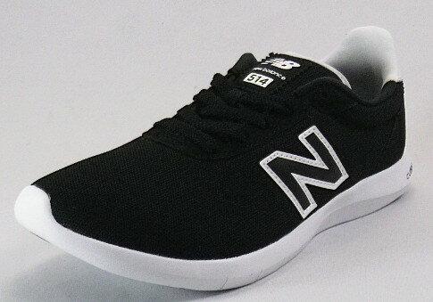 【new balance】WA514ブラック/ホワイトBB-D【婦人靴】【ウォーキング】【CUSH+】【メモリーファームインソール】