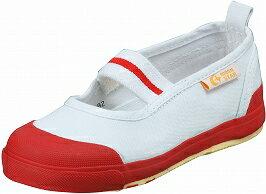 【Carrot】CR-ST11レッド2E【子供靴】【上履】【スクール】【洗えるインソール】【新定番】