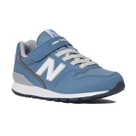 【new balance】YV996CDB デニムブルー【子供靴】【マジック】【ハーフサイズ】【C-CAP】【スリムフィット】【キッズ専用ラスト】