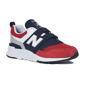 【new balance】PZ997H-EAレッド/ネイビー【通学】【子供靴】【ローカット】【ハーフサイズ】【PZ997HEA】【キッズ専用ラスト】