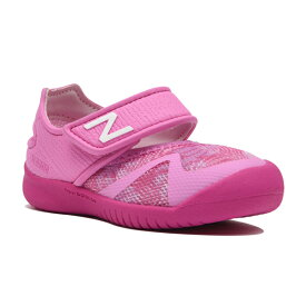 9491bd7896555 【new balance】IO208PNKトロピカルピンク【子供靴】【サマーシューズ】【