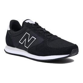 【newbalance】U220FIブラックー-D【婦人靴】【ランニングスタイル】【ライフスタイル】
