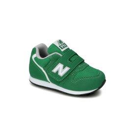 ☆【new balance】IZ996CGNグリーン【ベビー靴】【子供靴】【ローカット】【C-CAP】【ハーフサイズ】【キッズ専用ラスト】