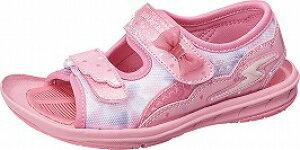 【バネのチカラ】スーパースターSK1042ピンク【子供靴】【サンダル】【サマーシューズ】【パワーバネ】【耐摩耗ラバー】