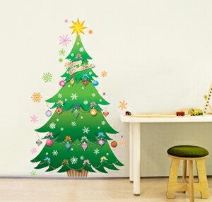 ウォールステッカーインテリアシールツリークリスマス