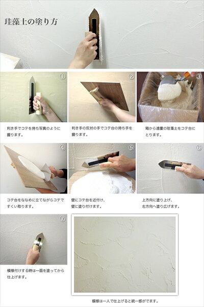 珪藻土塗り壁材ネリードお試しパック!【送料無料】【珪藻土】【塗り壁】【壁材】
