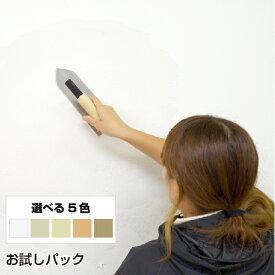 珪藻土 塗り壁 グレイン お試しパック 送料無料 DIY リフォーム 消臭 結露 練り済み 珪藻土 塗り壁 壁材 珪藻土壁材