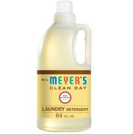 [送料無料] [64 fl oz/1.9L] Mrs. Meyer's Clean Day ミセスマイヤーズ クリーンデイ 液体洗濯洗剤 ベビーブロッサム Laundry Detergent Bottle Baby Blossom ナチュラル アメリカ [楽天海外直送]