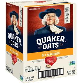 [送料無料] Quaker Old Fashioned Oatsクエーカー オールドファッション オートミール 3.62kg(1.81kg×2袋) アメリカ 朝食 [楽天海外直送]