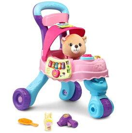 [送料無料] VTech ぬいぐるみ用 ベビーカー 音楽が鳴る 数字 アルファベット 勉強 Cutie Paws Puppy Stroller With Plush Puppy and Accessories アメリカ おもちゃ 1歳半 から 4歳 ままごと [楽天海外直送]