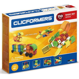 [送料無料] ( 110 ピース ) Clicformers ブロック ビルディング オモチャ 組み立て セット キッズ 創造性 知育玩具 STEM おもちゃ 教育 学習 [楽天海外直送]
