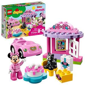 [送料無料] ( 21ピース ) LEGO DUPLO レゴ デュプロ ミニーマウス 誕生日パーティー Disney ディズニー 大きいブロック ビルディング キット おもちゃ 幼児 玩具 知育玩具 組み立て オモチャ ブロッ