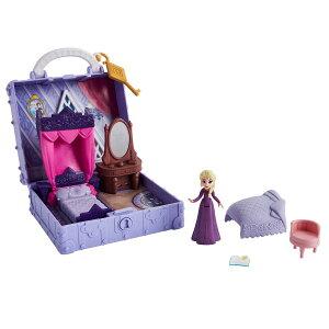 [送料無料] Disney ディズニー プリンセス アナと雪の女王 2 フローズン アナ雪 ポータブル ベッドルーム プレイセット エルサ ドールハウス 玩具 フィギュア おもちゃ Disney Frozen 2 Playset [楽天
