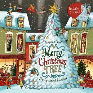 [送料無料] Merry Christmas Tree Pop-Up Advent Calendar : (Books for Family Holiday Games, Christmas Tree Advent Calendar) (Calendar)[楽天海外直送] | Merry Christmas Tree Pop-Up Advent Calendar : (Books for Family Holiday Games, Christmas Tree A