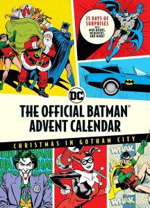 [送料無料] Batman: The Official Batman(tm) Advent Calendar : Christmas in Gotham City: 25 Days of Surprises with Mini Books, Mementos, and More!(Batman Books, Fun Holiday Advent Calendar, Super Hero Gifts) (Hardcover)[楽天海外直送] | Batman: The