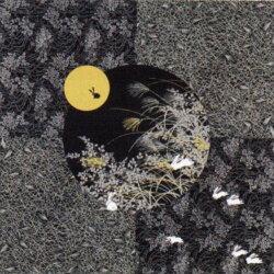 風呂敷綿大判大風呂敷(ふろしき)|月見うさぎ(黒)|日本製(国産)和風和物和柄通販05P24Feb14
