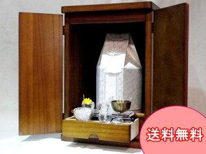 ペット仏具 ペット仏壇 本格観音開きペット用仏壇やすらぎ(はな)大きな骨壷も置けます