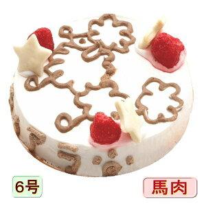 犬用の ケーキ アイラブプードル 6号 サイズ 馬肉とお野菜生地 お誕生日 バースデー 無添加で安心人気 お名前入り可 おやつ お祝い ギフト 贈り物 ペット ドッグ わんこ 記念 口コミ かわい