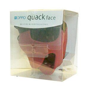 【送料無料】OPPO オッポ quack face クァックフェイス M レッド
