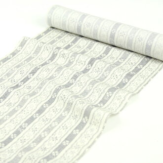 """Kyoto is faint"" pure silk fabrics Nagoya style sash cloth made in Japan"