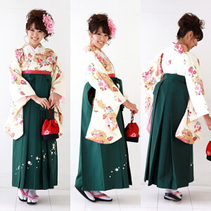 BP袴レンタル卒業式袴セット卒業式袴セット2尺袖着物&袴フルセットレンタル安いハカマはかまrental