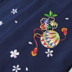 卒業式袴レンタル小学生「ブリリアントピースジュニア卒業式14点セット袴レンタルセット」オリジナルBP