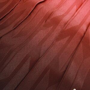 卒業式袴レンタル女袴セット女卒業式袴セット2尺袖着物&袴フルセットレンタル安い「淡いオレンジ地に赤・ピンク系の桜と花々」【fy16REN07】
