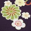 "16 points of full set purchase woman hakama set graduation ceremony hakama set 2 shaku sleeves kimono & hakama with graduation ceremony hakama boots with ""yellow, a stripe of the cream nostalgic plum flower ball"" boots retro modishness University sal"