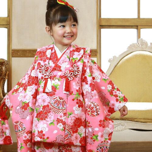 七五三 着物 3歳 セット 女の子 選べる9柄 被布セット 販売 着物セット 七五三 3歳用 正月 着物 ひな祭り 衣装 着物 モダン