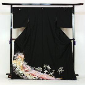 【レンタル】 留袖 レンタル 往復送料無料 着物 黒留 黒留袖 19点フルコーディネートセット 結婚式 rental とめそで kimono きもの