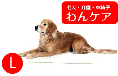介護マットホームナース L  床ずれ防止 ベッド  (洗濯用ネット付)【送料無料】 老犬 高齢犬 わんケア 【大型犬用介護用品】ペットグッズ P11Sep16