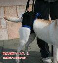 歩行補助ハーネス(後足用) L (胴周り63-73cm) 介護用【ウォークアバウト】 ペット 介護 用品【送料無料】 老犬 高齢犬 わんケア 【…