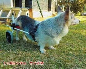 【1カ月レンタル】犬の車椅子 K9カートスタンダード後脚サポート M(11.1〜18kg)用 介護用品 老犬 高齢犬 わんケア 犬用 車椅子 車いす カート 中型犬 車椅子 バギー 後肢 後足 歩行器  コーギー ビーグル 犬 車椅子 レンタル