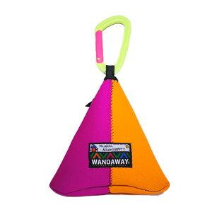【WANDAWAY】消臭マナーポーチ・テトラ(ピンク/蛍光オレンジ)軽量で伸縮性・防水性・耐久性に優れたウンチ入れ
