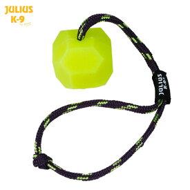 【Julius-K9】ユリウスケーナイン Neon (fluorescent) IDC@Ball 愛犬のおもちゃ ネオンボール シリコン製 ネオン色 イエロー オレンジ サイズ:60mm ドッグ 犬 Toy トイ おもちゃ【レターパック】