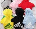 秋冬人気アディドッグ犬服 安い かわいい犬服 わんちゃん服 ドッグウェア 人気adidog犬服 可愛い犬雑貨