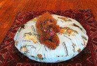 【直径80cm】ラウンドベッド専用カバー(M)小型犬・猫用サイズ【替えカバーシーツベッドクッション洗い替え日本製】