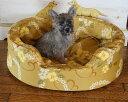 防水カバーと中身のセットMサイズ防水カバー付きベッドナミナミウレタンのオーソペディックカドラー選べる可愛い柄アロハ柄 日本製 パ…