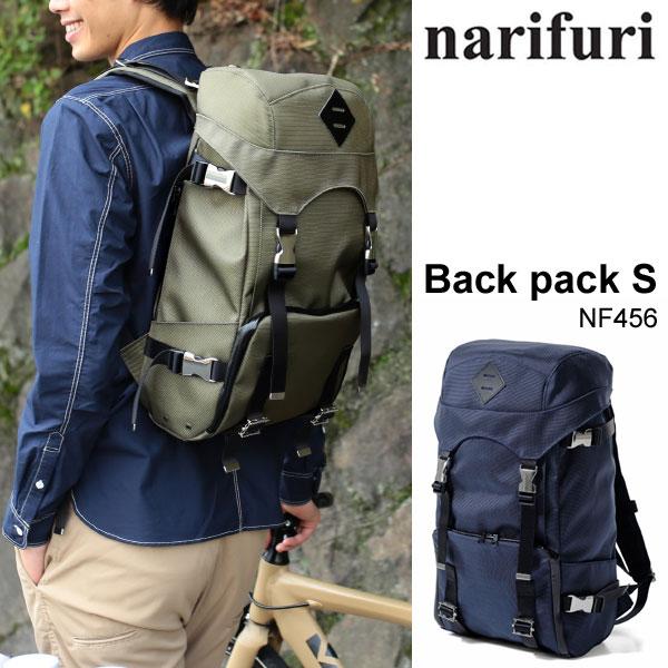 \全品ポイントアップ&2点で15%OFF/ナリフリ narifuri BACK PACK S[全2色](NF456)バックパック スモール メンズ レディース【鞄】_11510E(wannado)