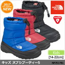 ノースフェイス ブーツ 子供用 ヌプシブーティー4[全3色](NFJ51781)THE NORTH FACE K NUPTSE BOOTIE IV キッズ【靴】_…