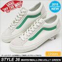 バンズ スニーカー スタイル36[マシュマロ/ジョリーグリーン]VANS STYLE36 MARSHMALLOW メンズ レディース【靴】_11801E(wan...