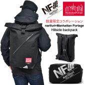 ナリフリ×マンハッタンポーテージnarifuri×ManhattanPortageヒルサイドバックパック[ブラック](NFMP-02)(MP1253)Hillsidebackpackメンズレディース【鞄】_1810wannado