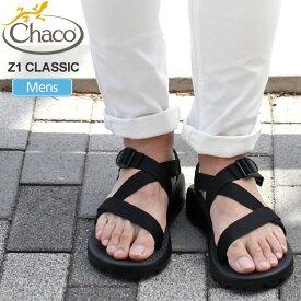 最大777円OFFクーポン配布中チャコ Chaco サンダル メンズ Z1クラシック ブラック 25-29cm MS Z1 CLASSIC 12366105 J105375 20SS sdl【靴】2005wannado