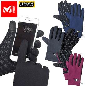SALE 35%OFFミレー 手袋 MILLET ウォームストレッチトレックグローブ(全4色)(MIV01468)WARM STRETCH TREK GLOVE メンズ レディース 1909wannado[M便 1/2]【返品交換・ラッピング不可】