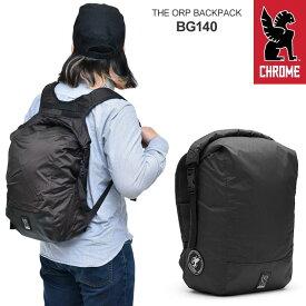 【正規取扱店】クローム CHROME バッグ リュック メンズ レディース THE ORP ブラック 24L BG140 bpk【鞄】2004wannado