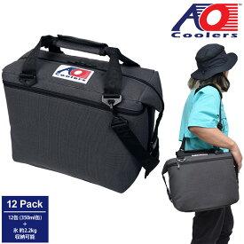 【正規取扱店】AOクーラーズ AO Coolers クーラーバッグ 保冷バッグ 12パックバリスティックソフトクーラー 11L チャコール AOBA12CH 20SS【鞄】2006wannado