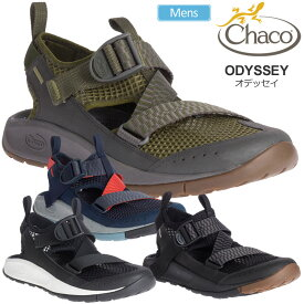 【正規取扱店】チャコ Chaco サンダル メンズ オデッセイ ブラック グリーン ネイビー 25-29cm MS ODYSSEY 12366139 20SS sdl【靴】2006wannado
